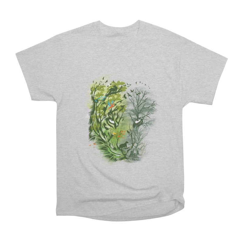 Save the Forest Men's Heavyweight T-Shirt by dandingeroz's Artist Shop