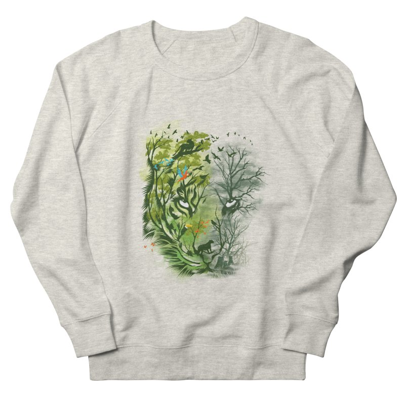 Save the Forest Men's French Terry Sweatshirt by dandingeroz's Artist Shop