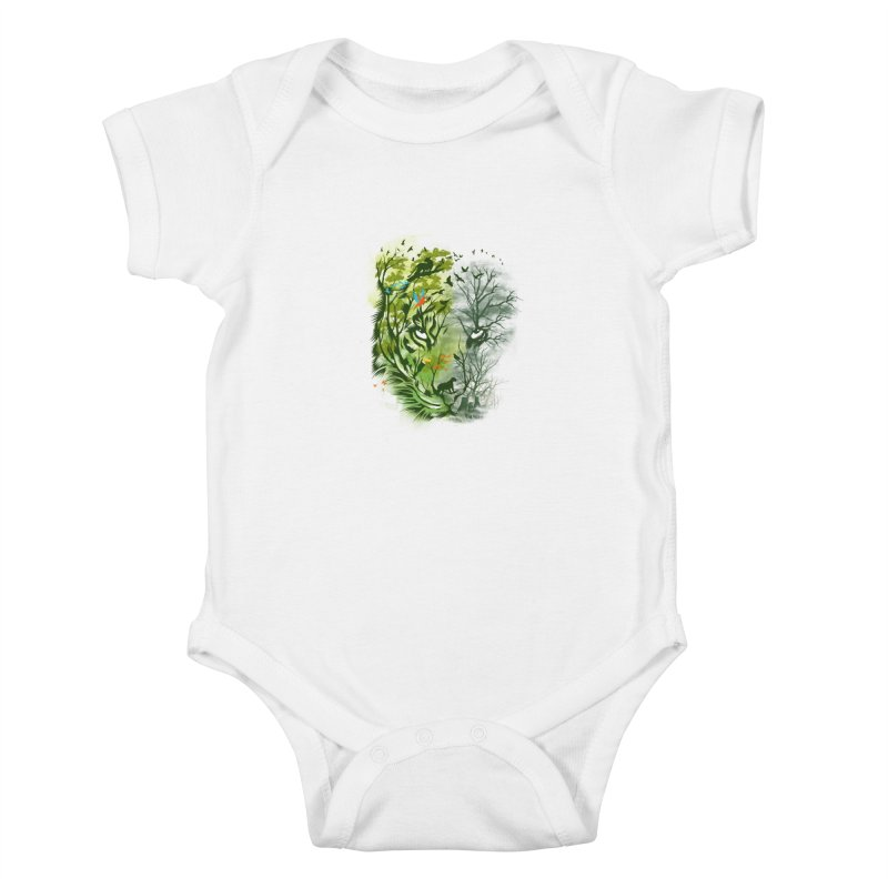 Save the Forest Kids Baby Bodysuit by dandingeroz's Artist Shop