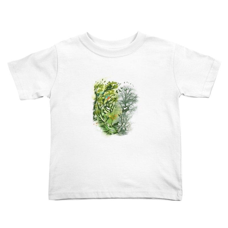 Save the Forest Kids Toddler T-Shirt by dandingeroz's Artist Shop