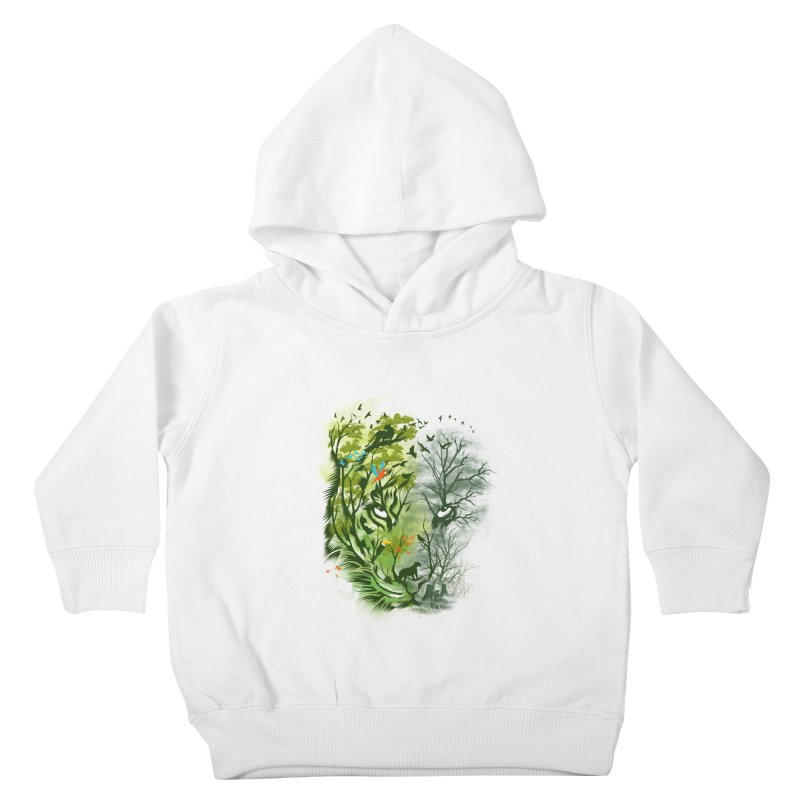 Save the Forest Kids Toddler Pullover Hoody by dandingeroz's Artist Shop