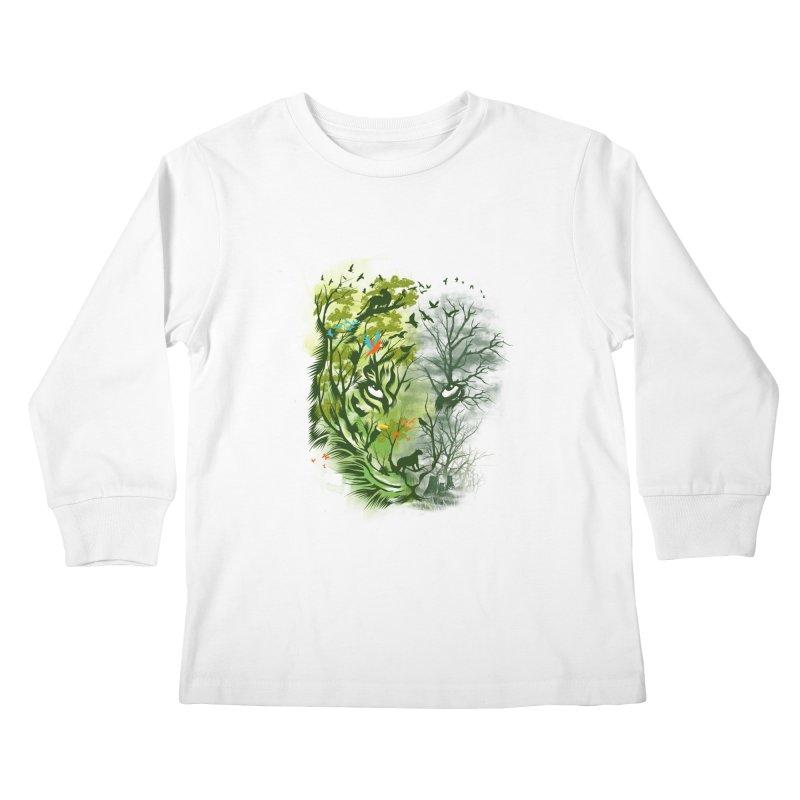 Save the Forest Kids Longsleeve T-Shirt by dandingeroz's Artist Shop