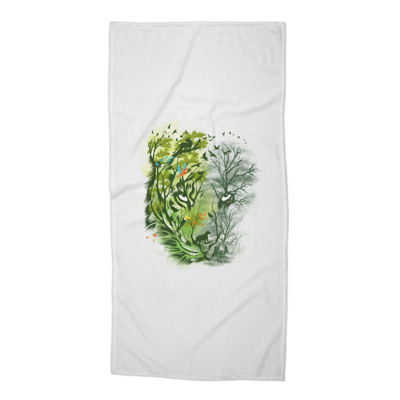 Save the Forest Accessories Beach Towel by dandingeroz's Artist Shop