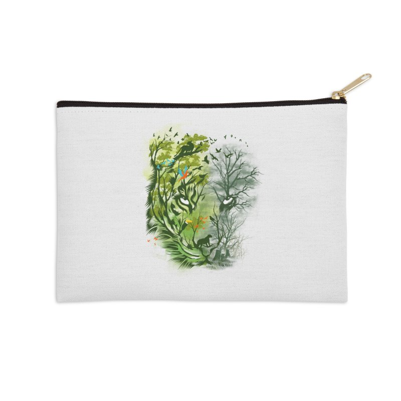 Save the Forest Accessories Zip Pouch by dandingeroz's Artist Shop