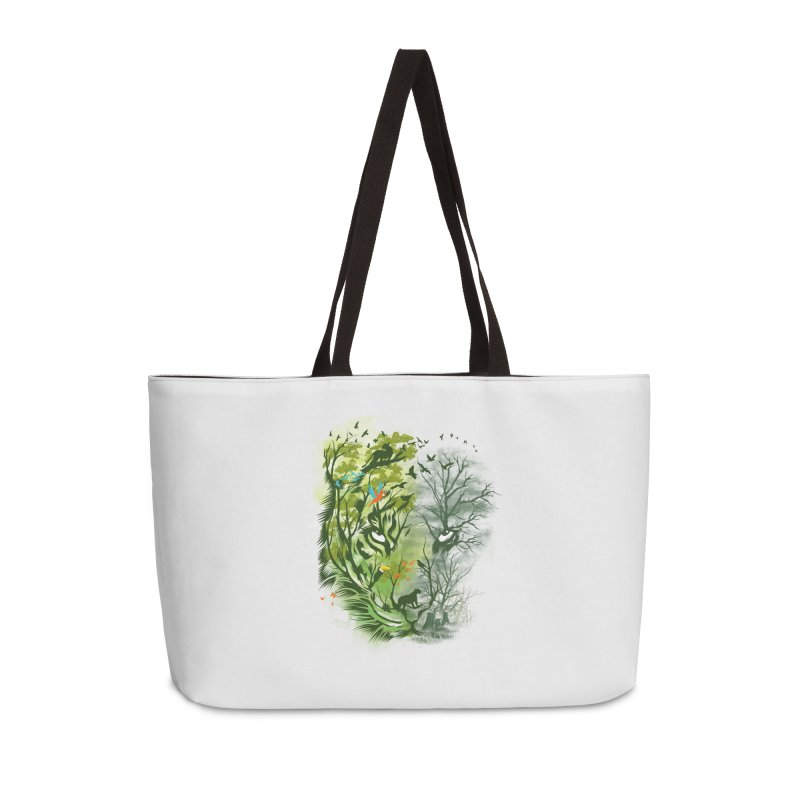 Save the Forest Accessories Weekender Bag Bag by dandingeroz's Artist Shop