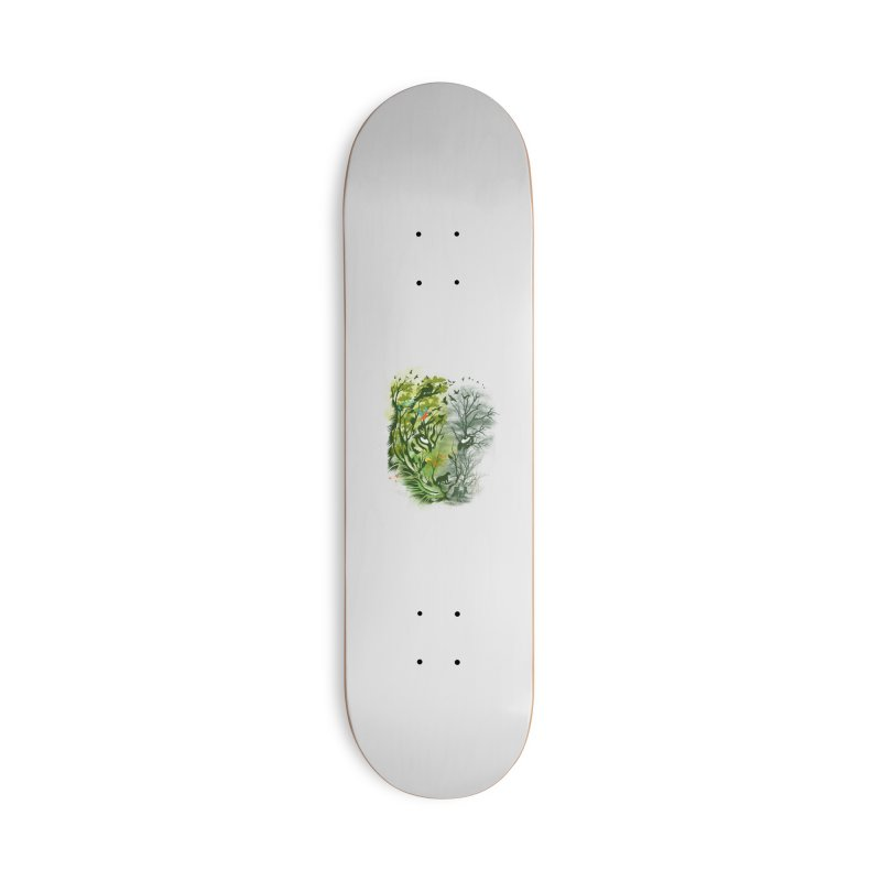 Save the Forest Accessories Deck Only Skateboard by dandingeroz's Artist Shop