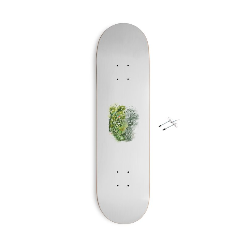 Save the Forest Accessories With Hanging Hardware Skateboard by dandingeroz's Artist Shop