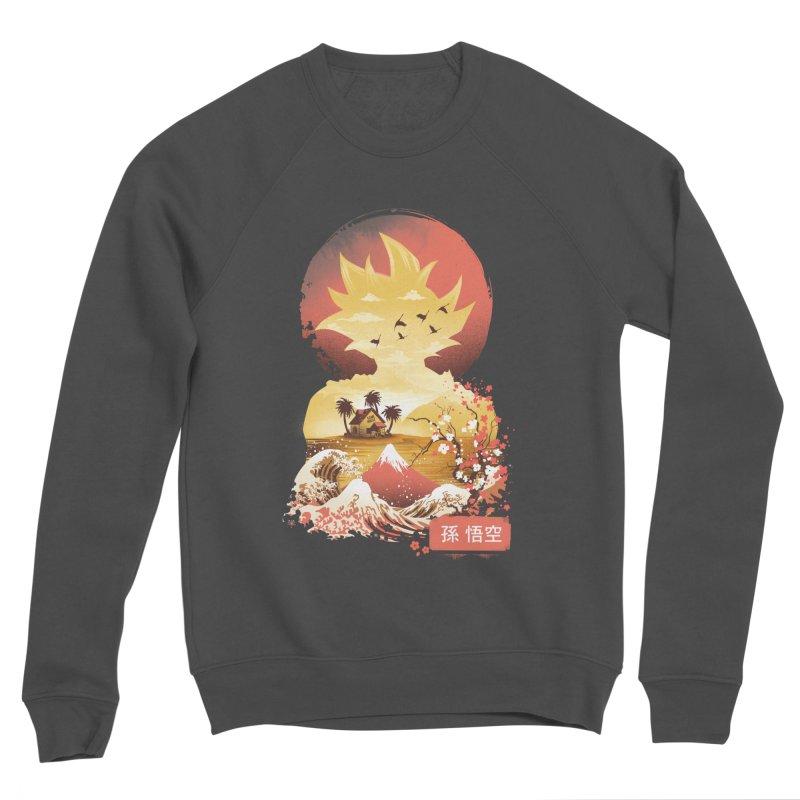 Ukiyo e Super Saiyan Women's Sponge Fleece Sweatshirt by dandingeroz's Artist Shop
