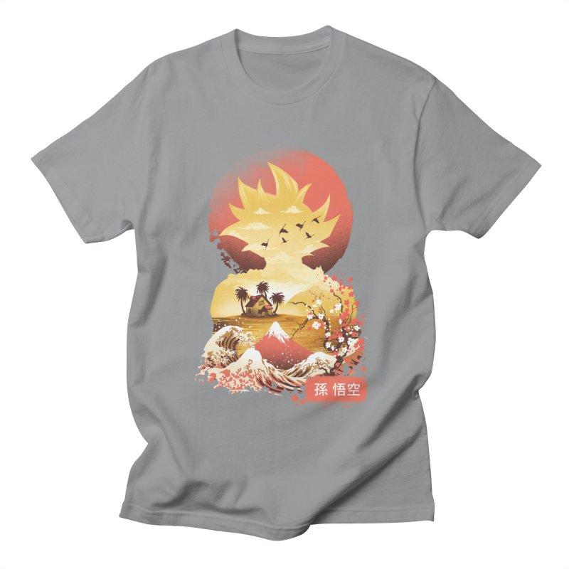 Ukiyo e Super Saiyan Women's Regular Unisex T-Shirt by dandingeroz's Artist Shop