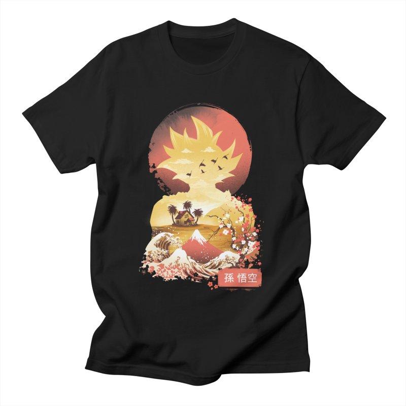 Ukiyo e Super Saiyan Men's Regular T-Shirt by dandingeroz's Artist Shop