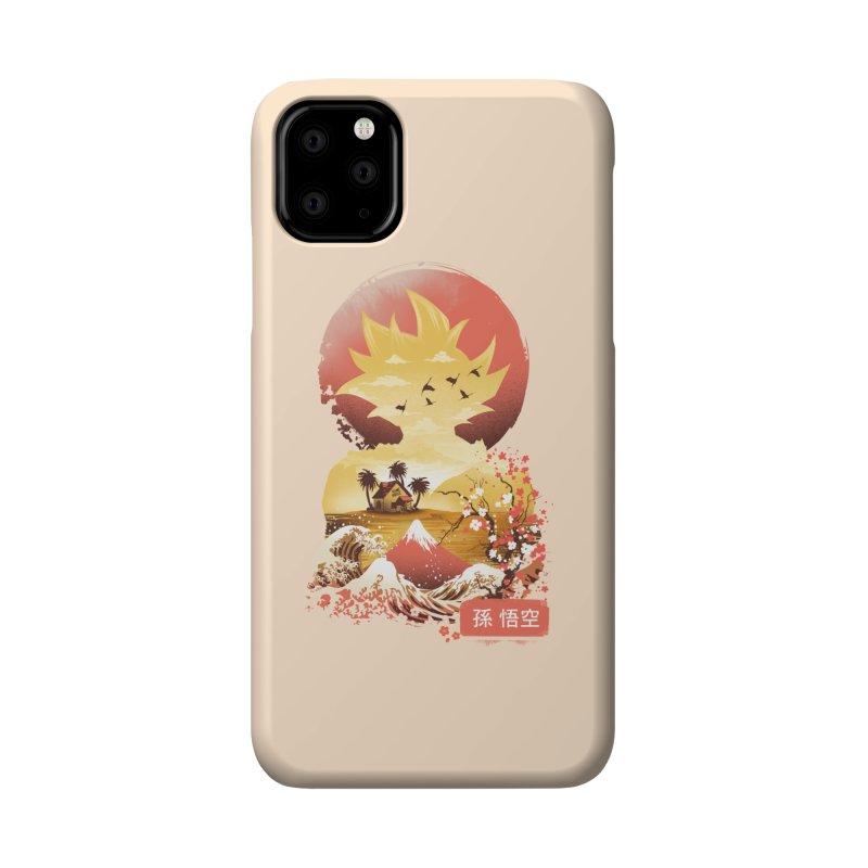 Ukiyo e Super Saiyan Accessories Phone Case by dandingeroz's Artist Shop