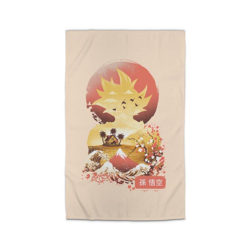 Ukiyo e Super Saiyan Home Rug by dandingeroz's Artist Shop