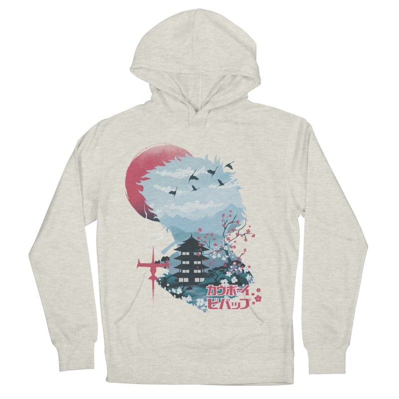 Ukiyo e Space Cowboy Men's French Terry Pullover Hoody by dandingeroz's Artist Shop
