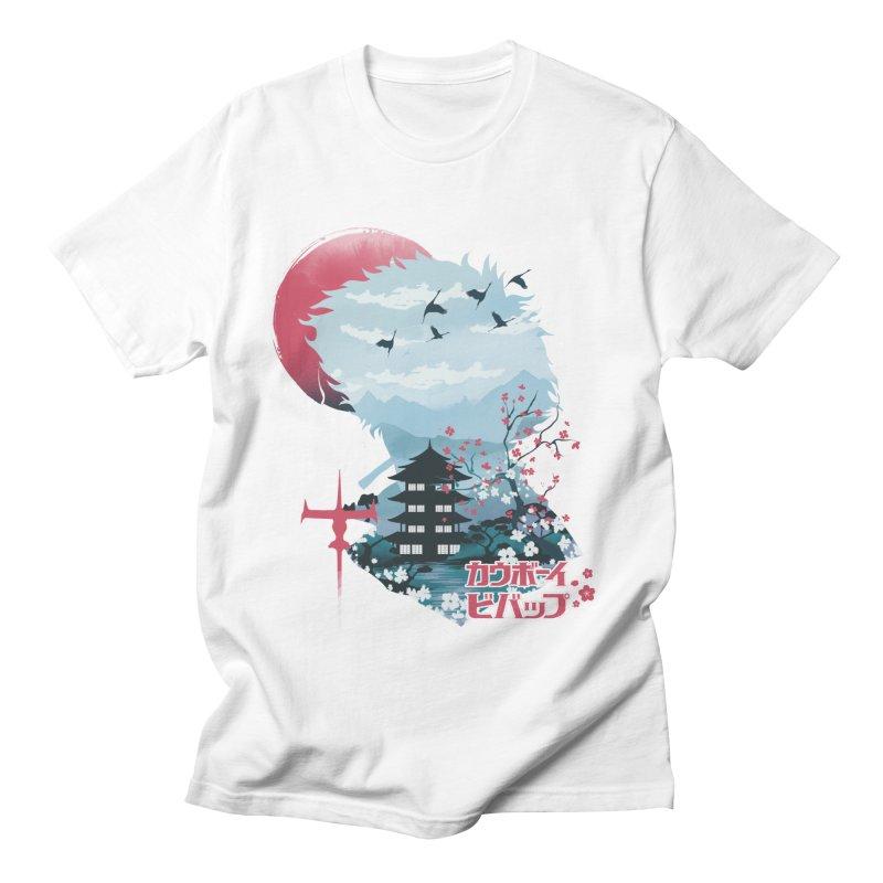 Ukiyo e Space Cowboy Women's Regular Unisex T-Shirt by dandingeroz's Artist Shop