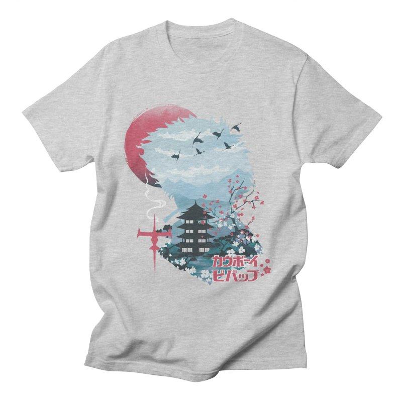 Ukiyo e Space Cowboy Men's Regular T-Shirt by dandingeroz's Artist Shop