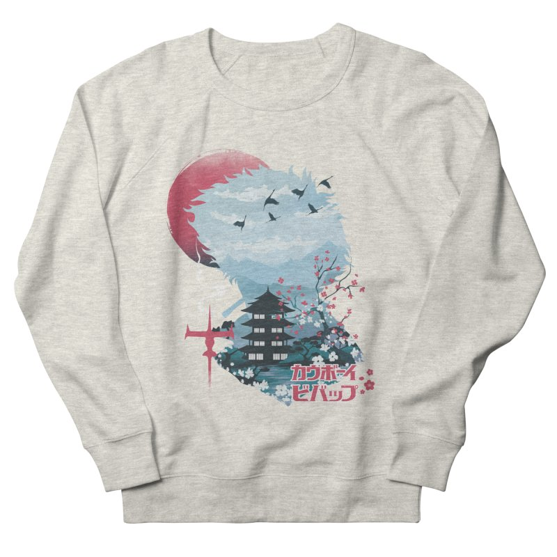 Ukiyo e Space Cowboy Men's French Terry Sweatshirt by dandingeroz's Artist Shop