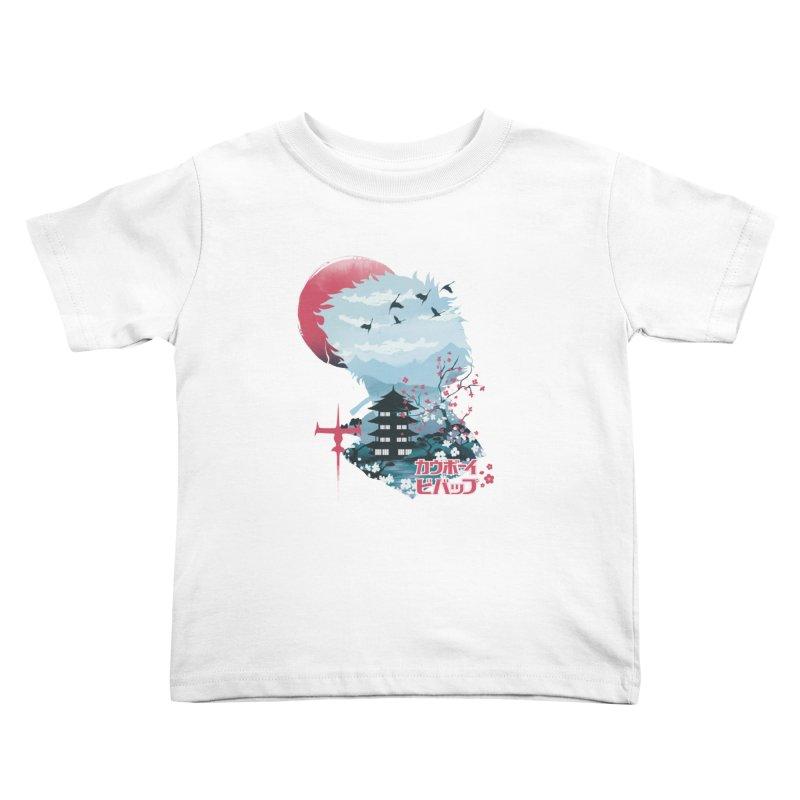 Ukiyo e Space Cowboy Kids Toddler T-Shirt by dandingeroz's Artist Shop