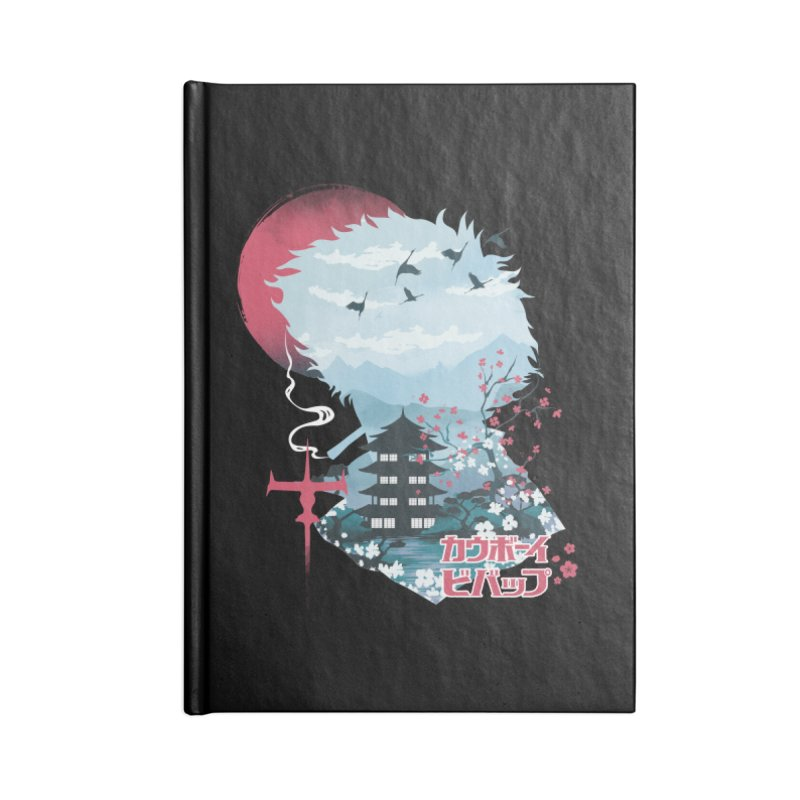Ukiyo e Space Cowboy Accessories Blank Journal Notebook by dandingeroz's Artist Shop