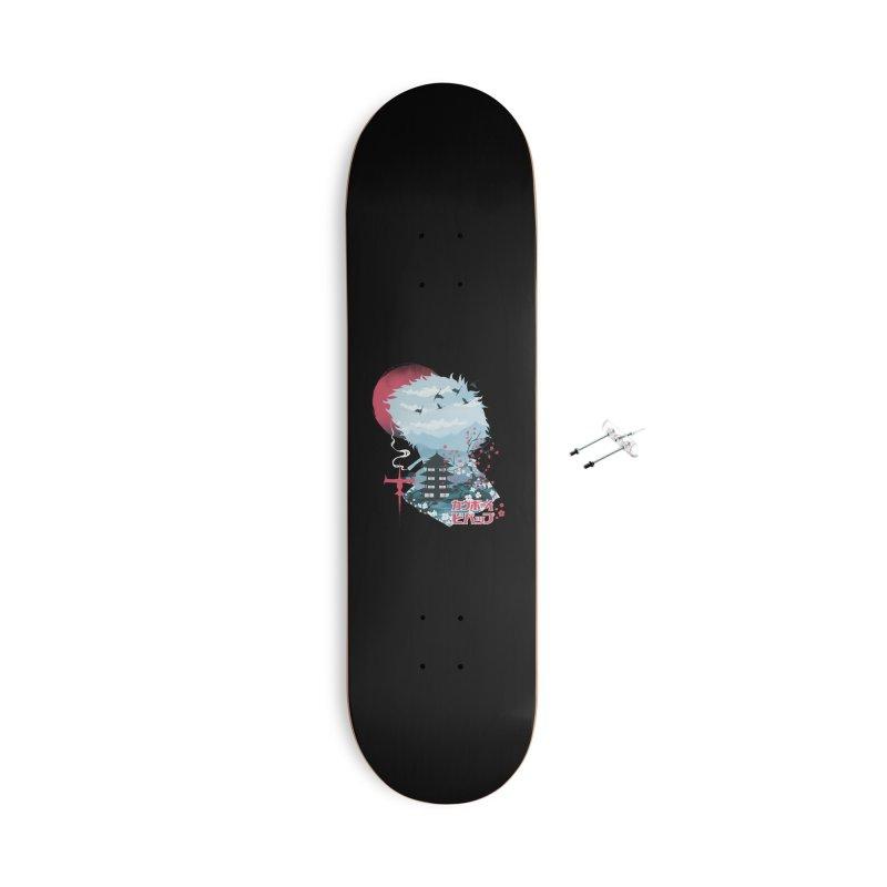 Ukiyo e Space Cowboy Accessories With Hanging Hardware Skateboard by dandingeroz's Artist Shop