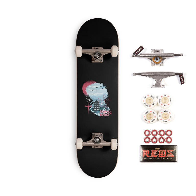 Ukiyo e Space Cowboy Accessories Complete - Pro Skateboard by dandingeroz's Artist Shop
