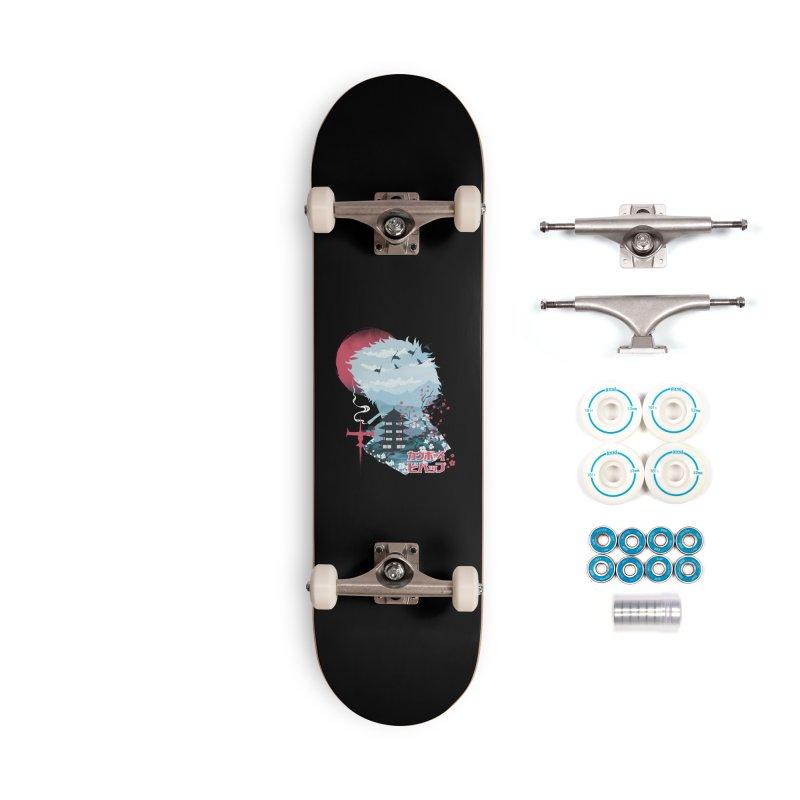 Ukiyo e Space Cowboy Accessories Complete - Basic Skateboard by dandingeroz's Artist Shop