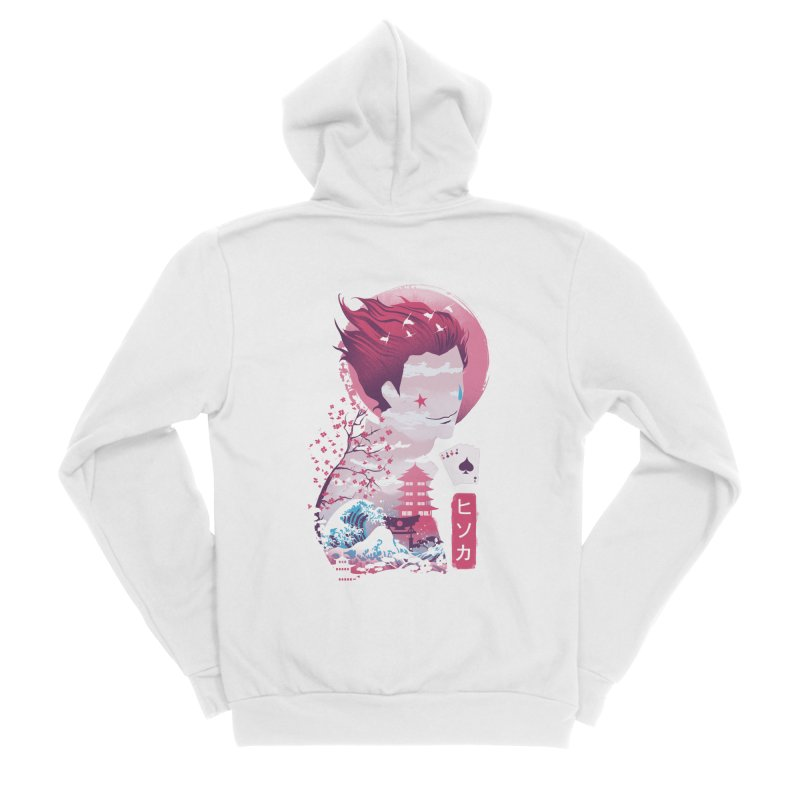 Ukiyo e Hunter Women's Sponge Fleece Zip-Up Hoody by dandingeroz's Artist Shop