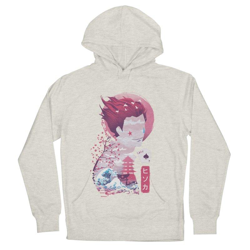 Ukiyo e Hunter Women's French Terry Pullover Hoody by dandingeroz's Artist Shop