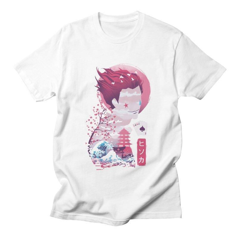 Ukiyo e Hunter Men's Regular T-Shirt by dandingeroz's Artist Shop
