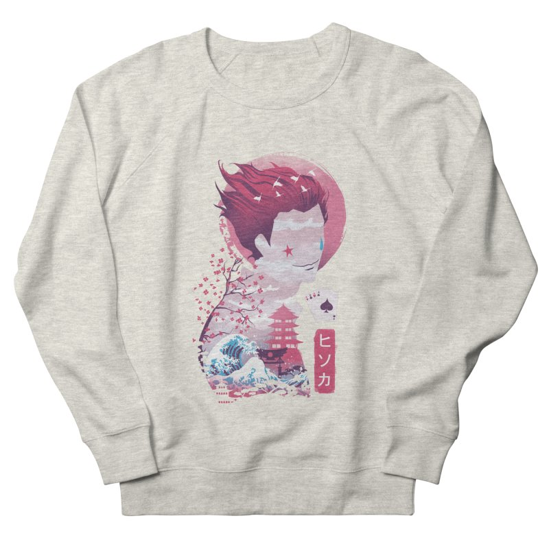 Ukiyo e Hunter Women's French Terry Sweatshirt by dandingeroz's Artist Shop