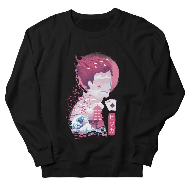 Ukiyo e Hunter Men's French Terry Sweatshirt by dandingeroz's Artist Shop