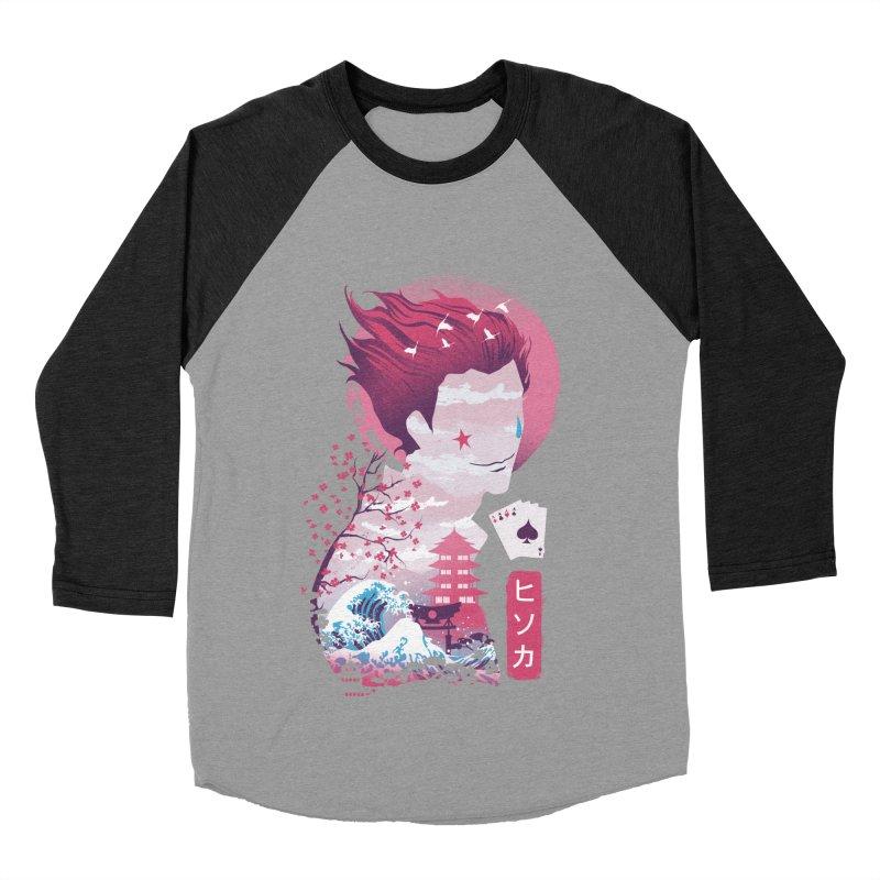 Ukiyo e Hunter Women's Baseball Triblend Longsleeve T-Shirt by dandingeroz's Artist Shop