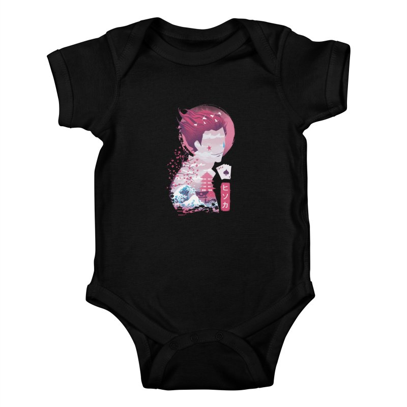 Ukiyo e Hunter Kids Baby Bodysuit by dandingeroz's Artist Shop