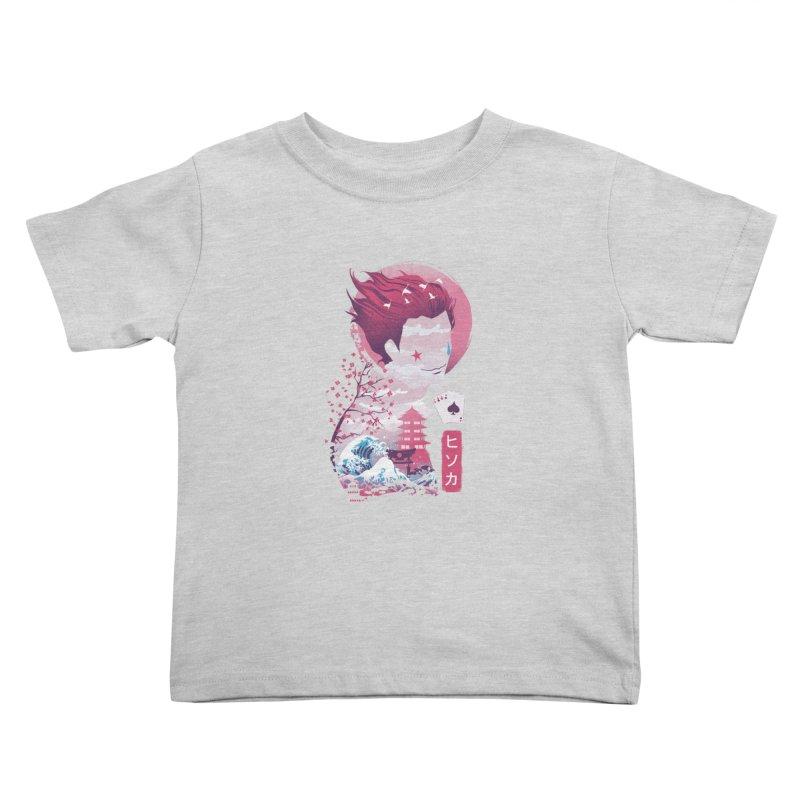 Ukiyo e Hunter Kids Toddler T-Shirt by dandingeroz's Artist Shop