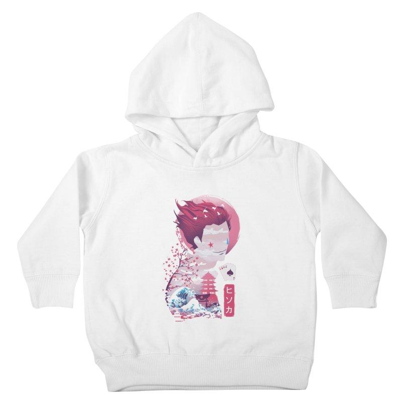 Ukiyo e Hunter Kids Toddler Pullover Hoody by dandingeroz's Artist Shop