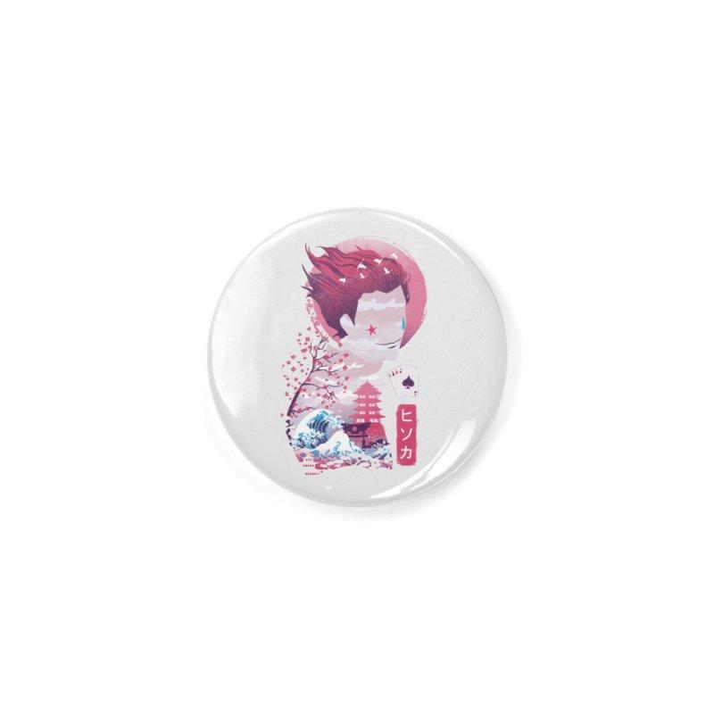 Ukiyo e Hunter Accessories Button by dandingeroz's Artist Shop