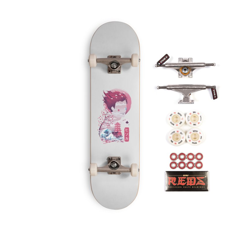 Ukiyo e Hunter Accessories Complete - Pro Skateboard by dandingeroz's Artist Shop