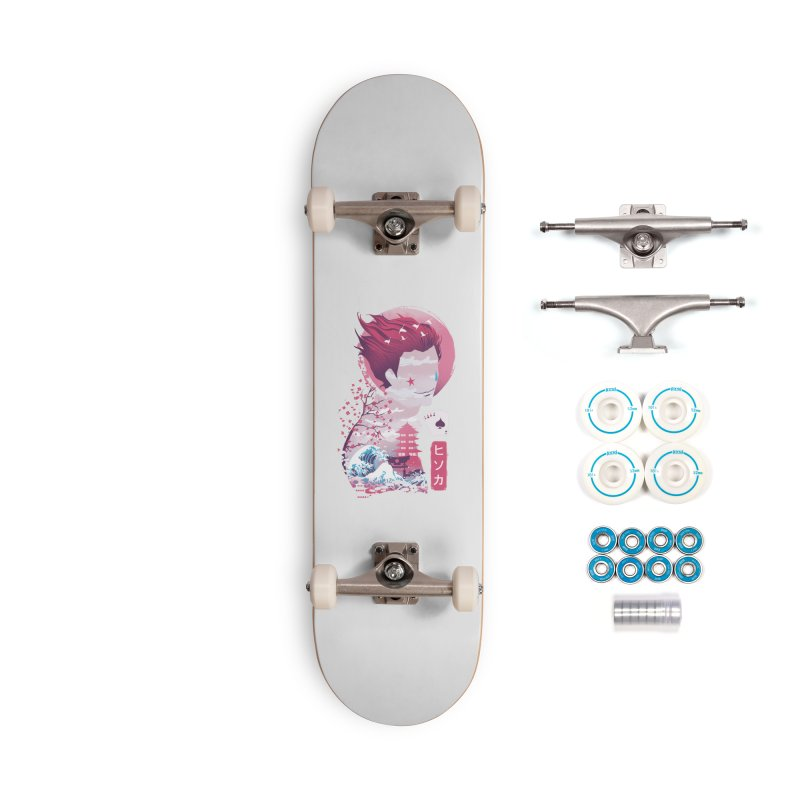 Ukiyo e Hunter Accessories Complete - Basic Skateboard by dandingeroz's Artist Shop