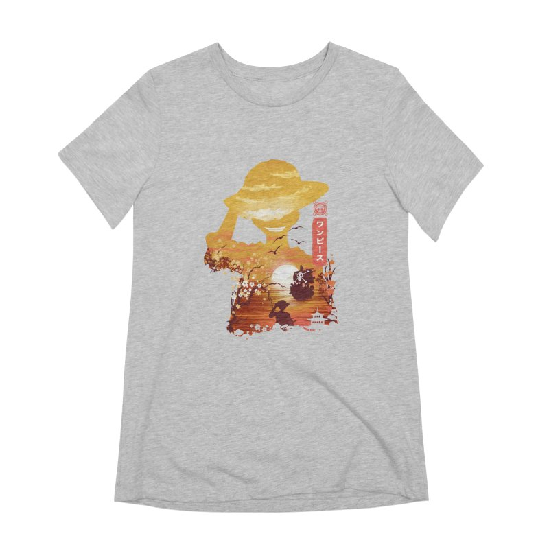 Ukiyo e King of the Pirates Women's Extra Soft T-Shirt by dandingeroz's Artist Shop