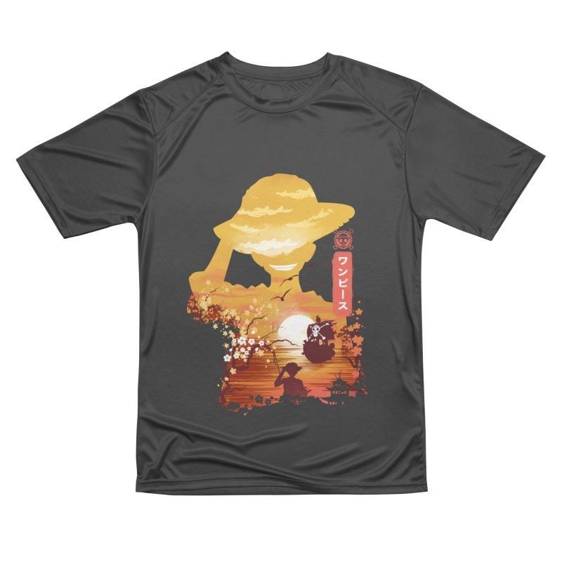 Ukiyo e King of the Pirates Women's Performance Unisex T-Shirt by dandingeroz's Artist Shop