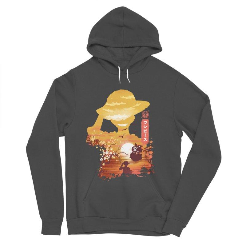 Ukiyo e King of the Pirates Men's Sponge Fleece Pullover Hoody by dandingeroz's Artist Shop