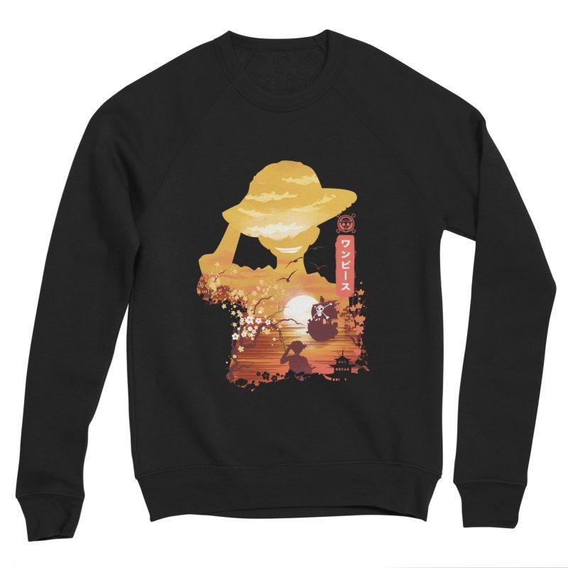 Ukiyo e King of the Pirates Women's Sponge Fleece Sweatshirt by dandingeroz's Artist Shop
