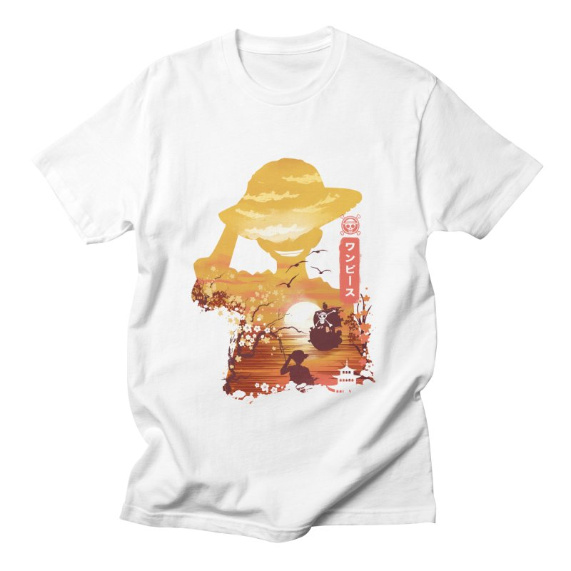 Ukiyo e King of the Pirates Men's Regular T-Shirt by dandingeroz's Artist Shop