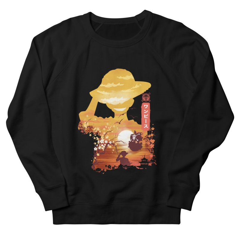 Ukiyo e King of the Pirates Women's French Terry Sweatshirt by dandingeroz's Artist Shop