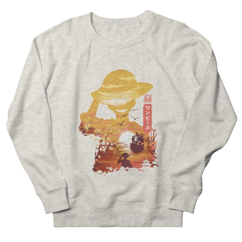 Ukiyo e King of the Pirates Men's French Terry Sweatshirt by dandingeroz's Artist Shop
