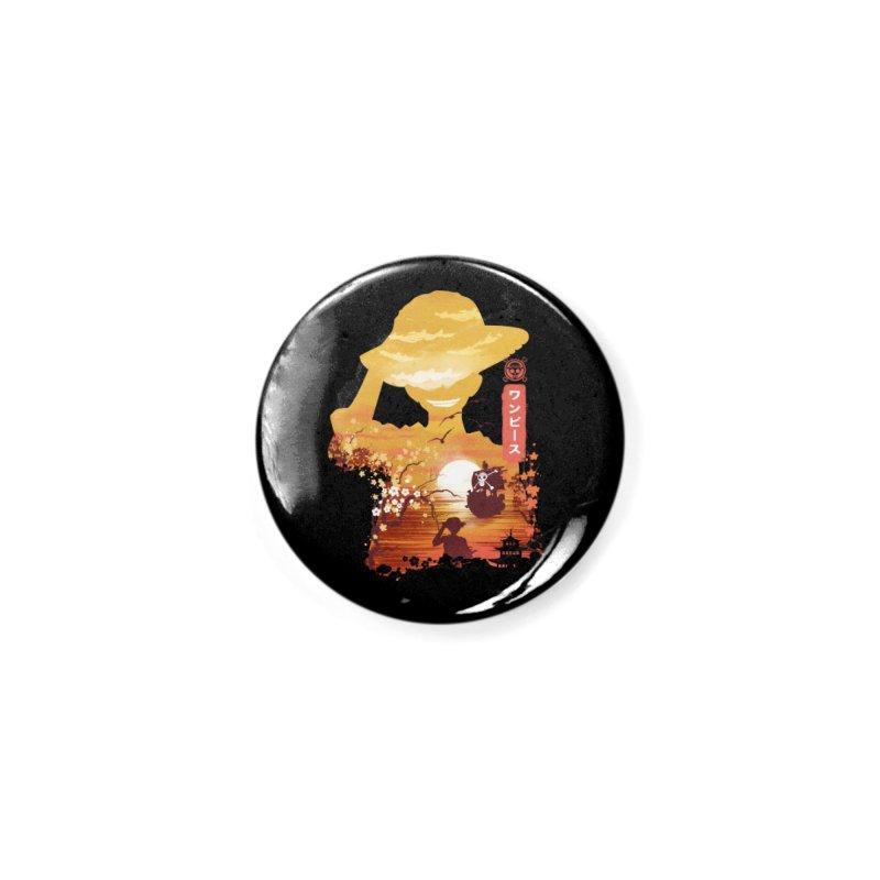 Ukiyo e King of the Pirates Accessories Button by dandingeroz's Artist Shop