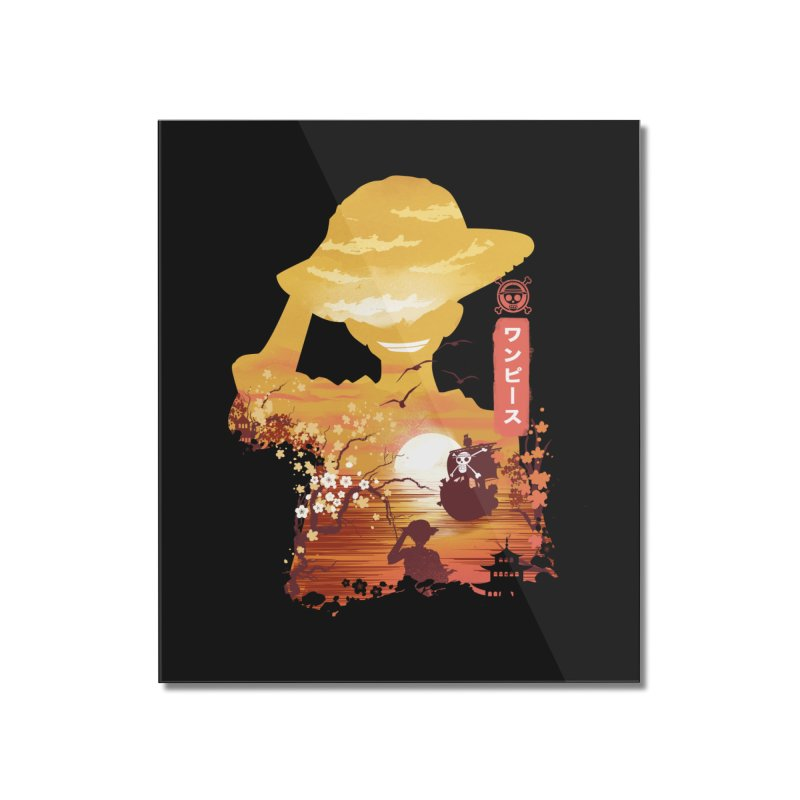 Ukiyo e King of the Pirates Home Mounted Acrylic Print by dandingeroz's Artist Shop