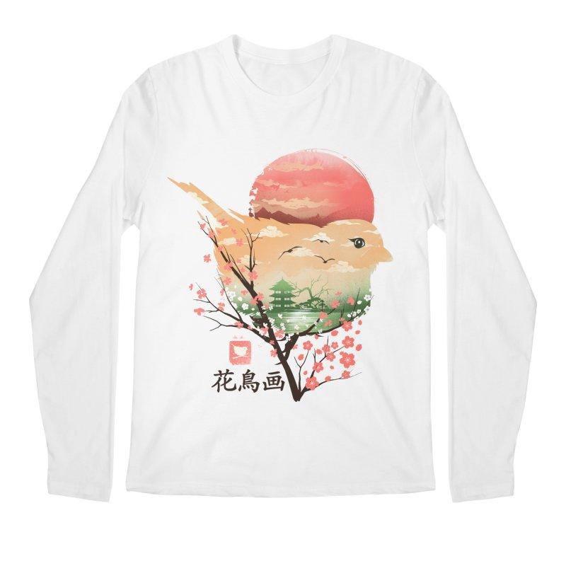 Japanese Bird Men's Regular Longsleeve T-Shirt by dandingeroz's Artist Shop