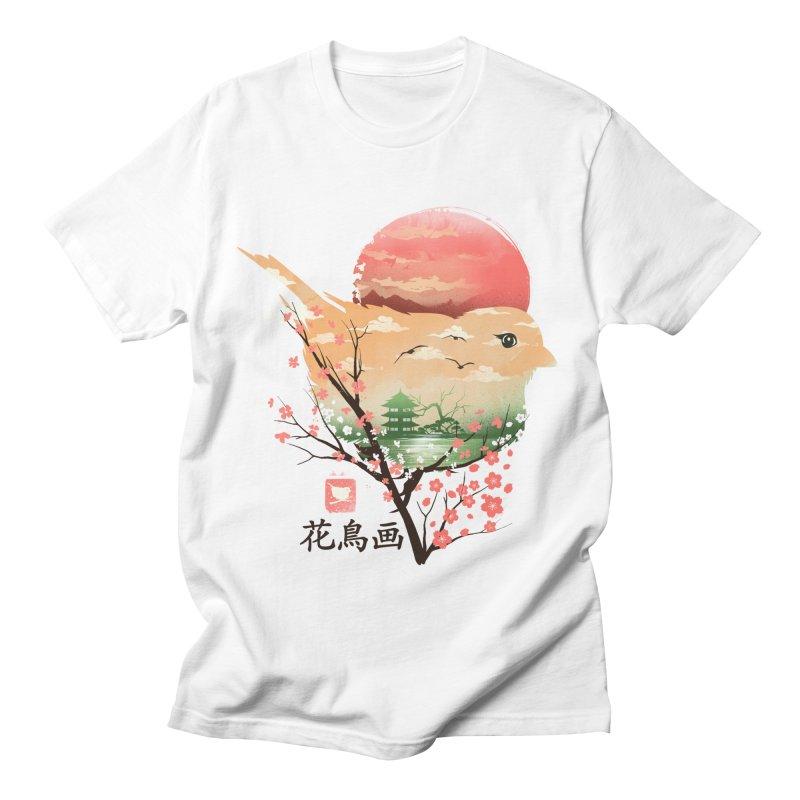 Japanese Bird Men's Regular T-Shirt by dandingeroz's Artist Shop