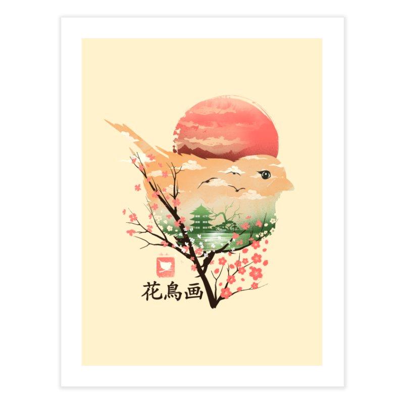 Japanese Bird Home Fine Art Print by dandingeroz's Artist Shop