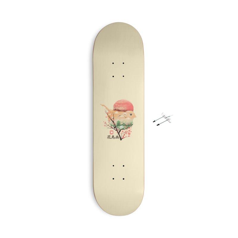 Japanese Bird Accessories With Hanging Hardware Skateboard by dandingeroz's Artist Shop